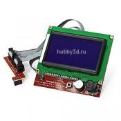Дисплей для 3d-принтера 43х72 мм (128 x 64 точек)